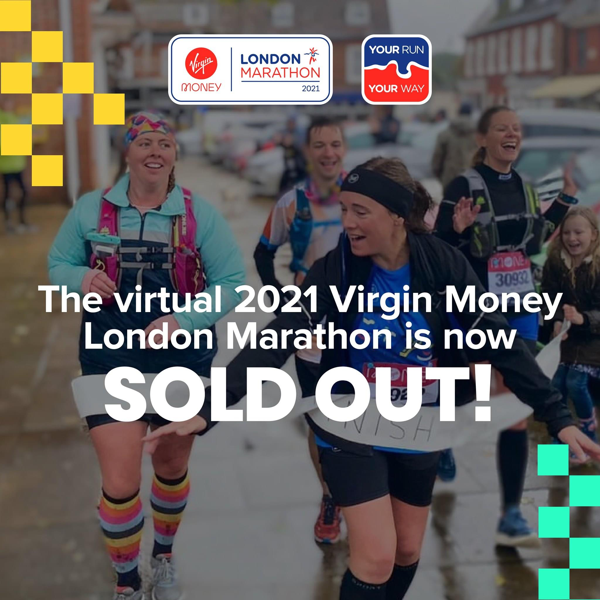 Virtual london marathon sold out